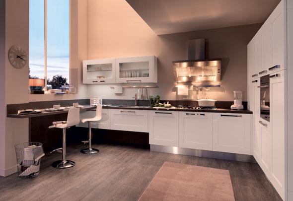 La gestione dei punti luce - Cucine Lube
