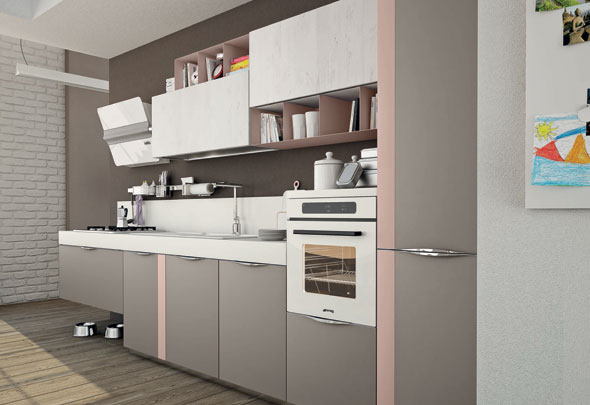 Ante: un nuovo modo di vestire la cucina - Cucine Lube