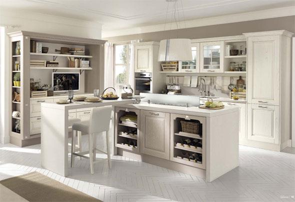 Lo stile Country: in cucina come una volta - Cucine Lube