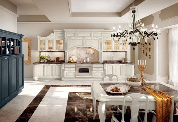 Tavoli e sedie, il fascino in cucina - Cucine Lube