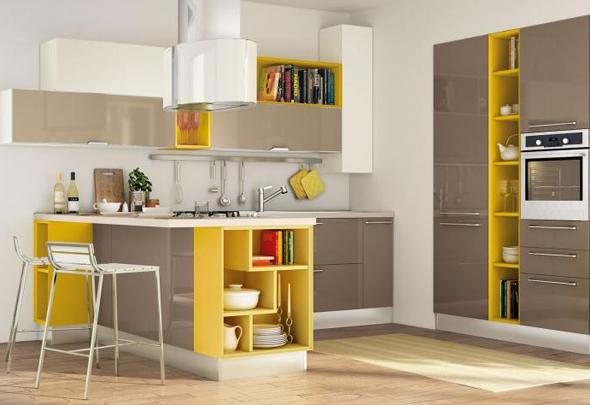 Una tavolozza di colori per Noemi - Cucine Lube
