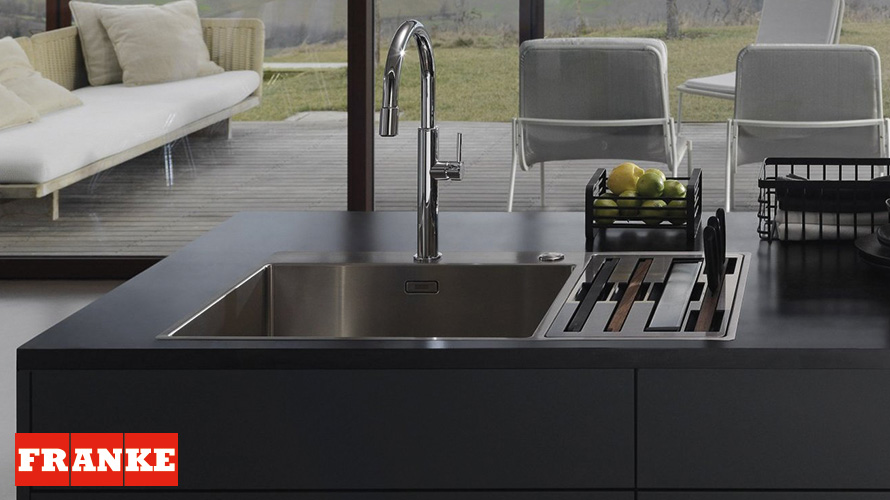 Franke Box Centre, for a configurable and multifunctional sink area ...