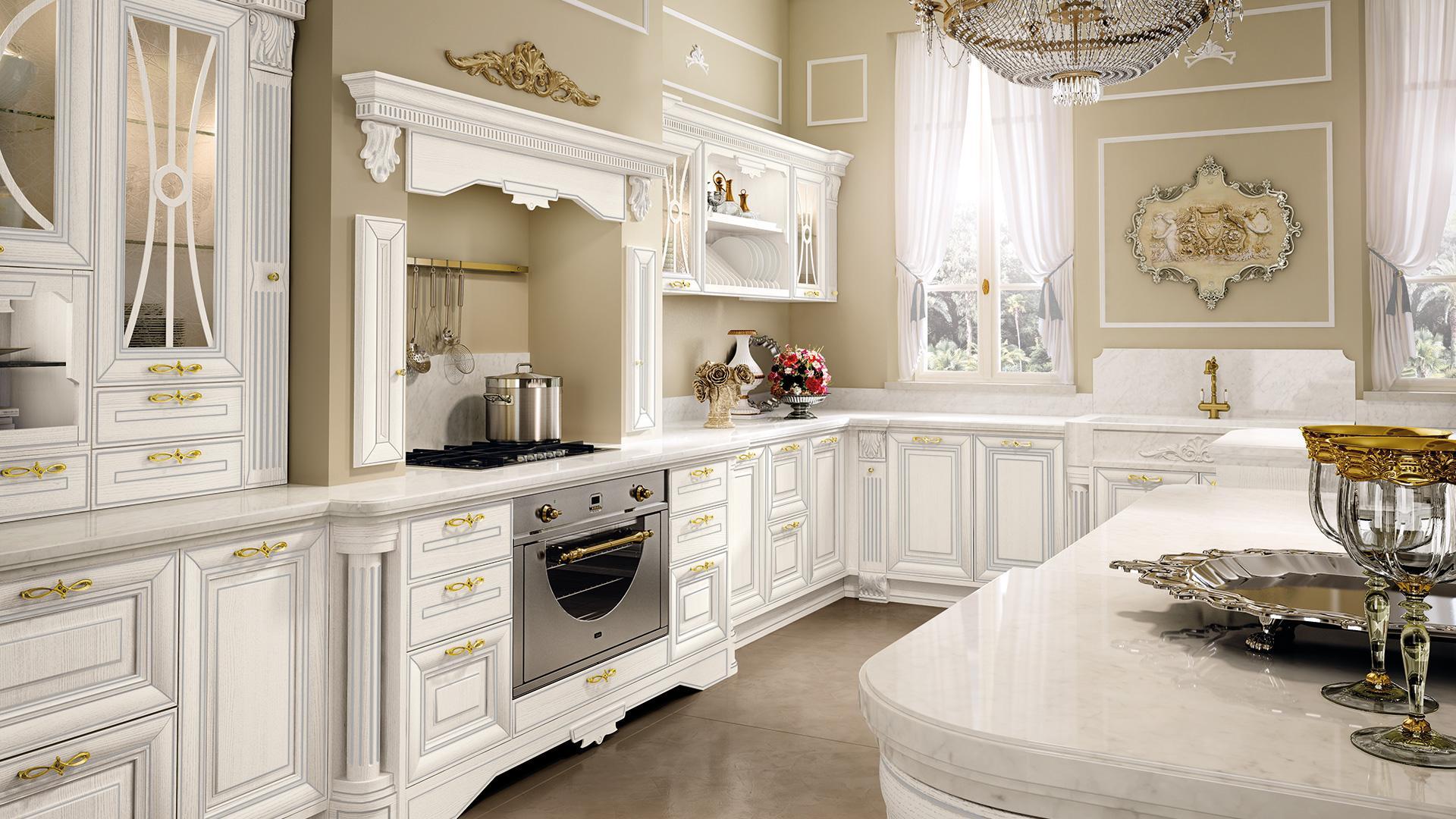 Cucine Di Lusso Classiche : Cucine & design cucine lube
