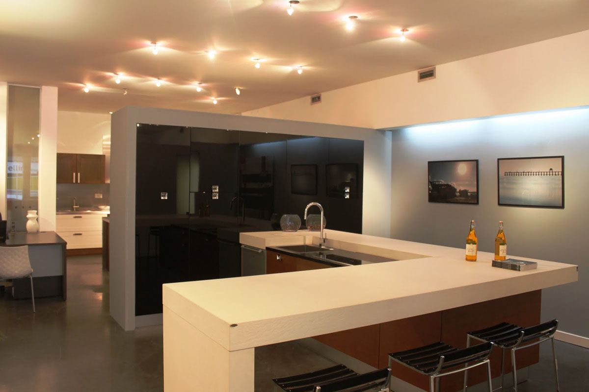 Opened a new showroom in Montreal, Canada. - Kitchens Lube