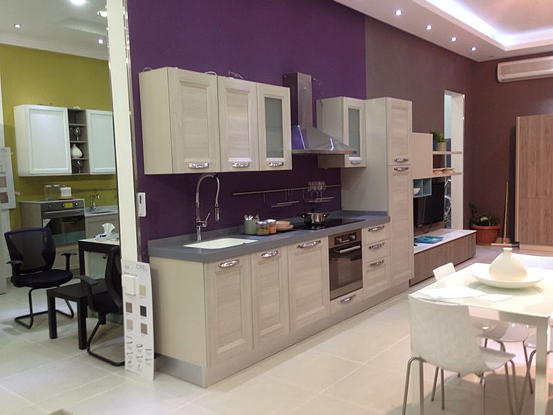 CUCINE LUBE AND THE NEW BRAND CREO KITCHENS TOGETHER IN A NEW STORE ...