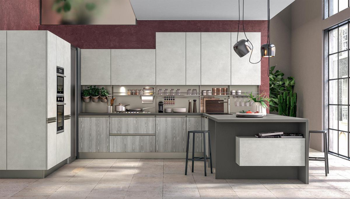 Compositions - U-Shaped Kitchens - Cucine LUBE