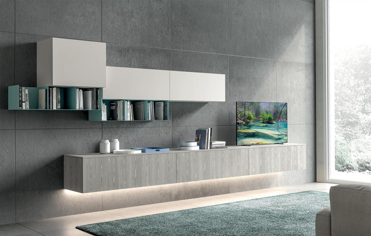 Living area - Modern style - Cucine LUBE