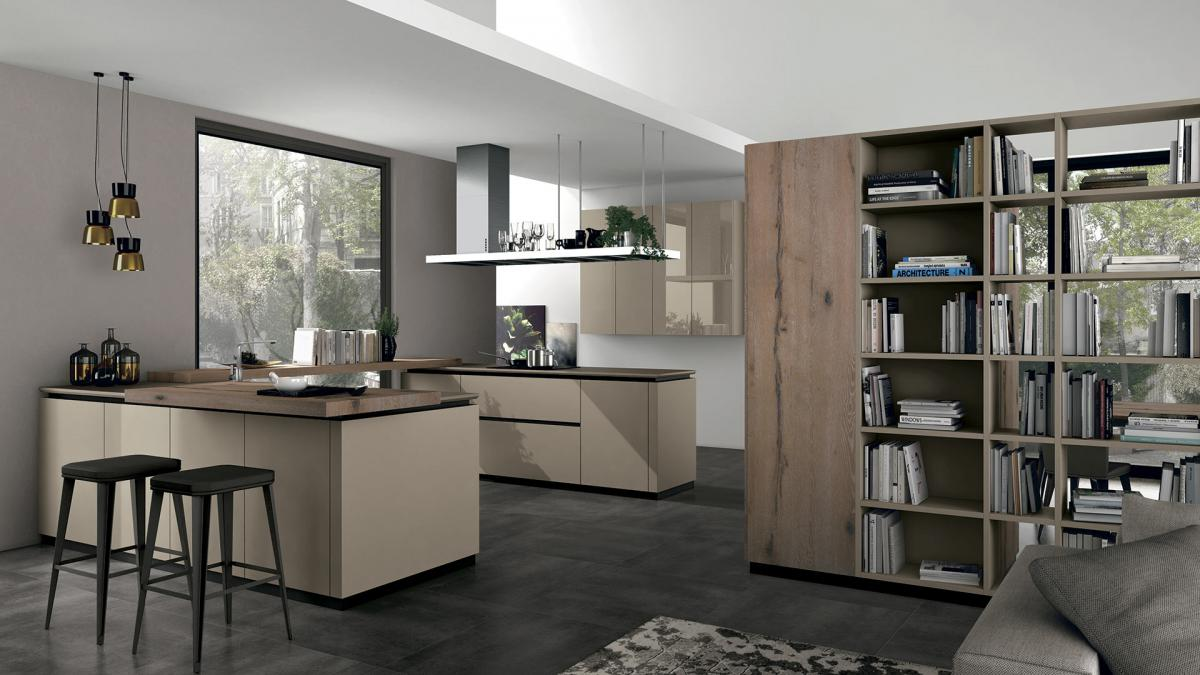 Living - Interpareti - Cucine LUBE