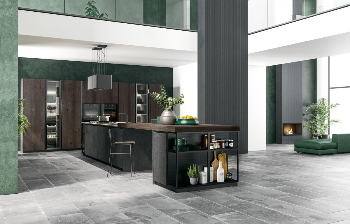 Compositions - Island Kitchens - Cucine LUBE