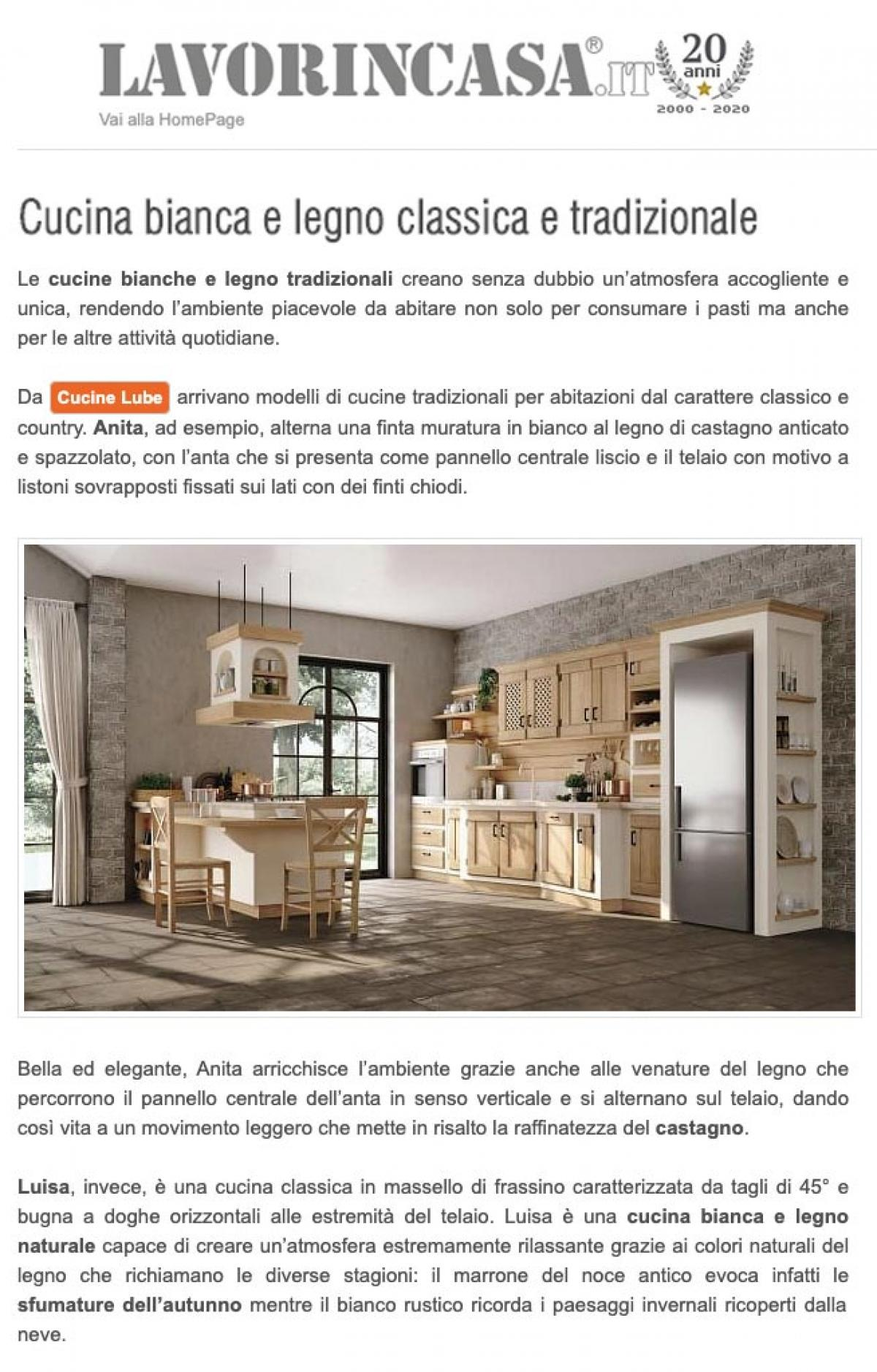Lavoriincasa.it - Cucine LUBE