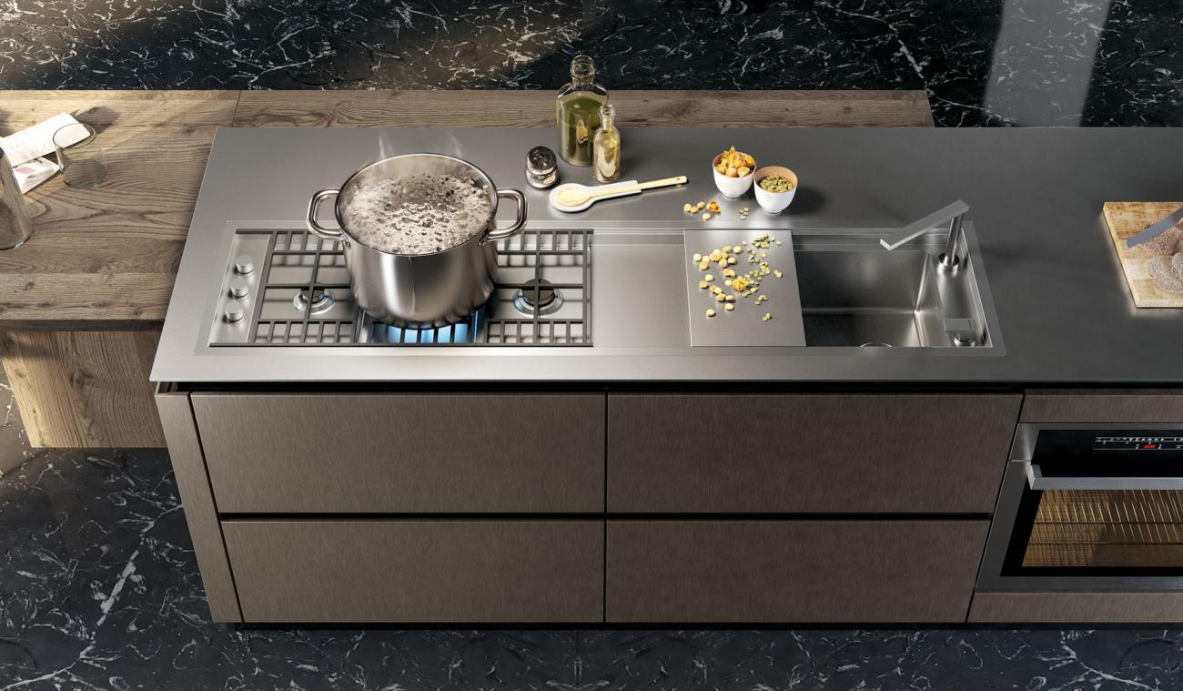 Cocinas Modernas - Oltre - DESIGN COLLECTION LUX 01