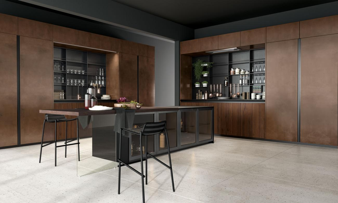 Cocinas Modernas - Oltre - DESIGN COLLECTION LUX 04