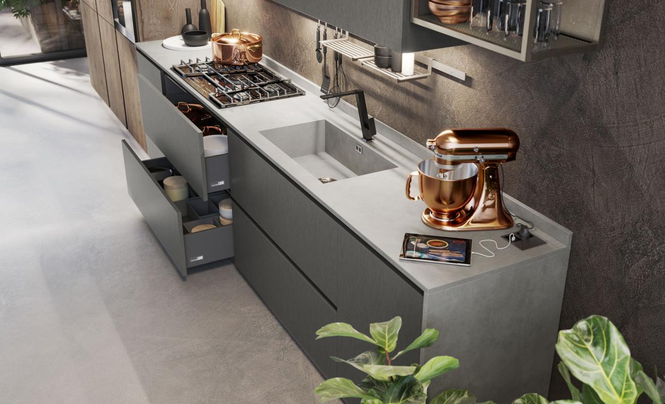 Cocinas Modernas - Oltre - DESIGN COLLECTION LUX 05