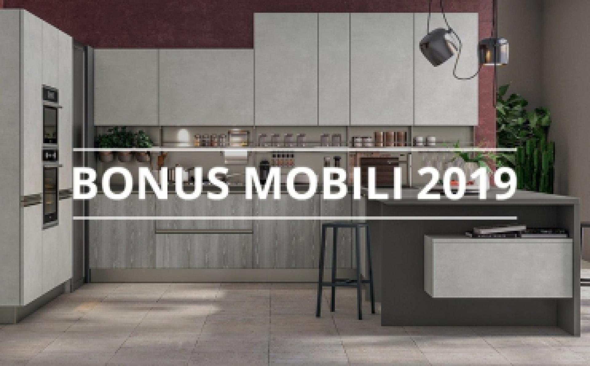 Bonus mobili rinnovato a tutto il 2019 - Cucine LUBE
