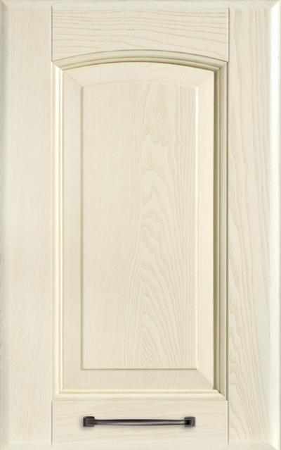 Veronica Solid ash wood - Pickled white