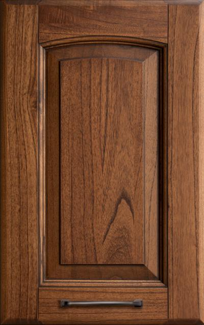Veronica Solid ash wood - Walnut-stained