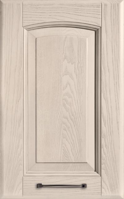 Veronica Solid ash wood - Pickled clay grey ash