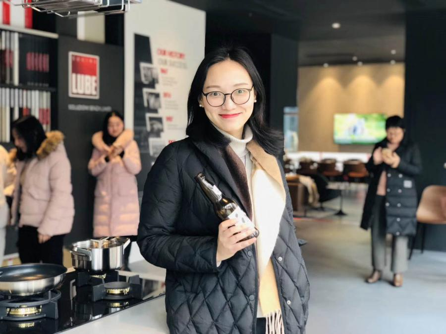 China: architects and interior designers met the Lube brand in the new Hefei store