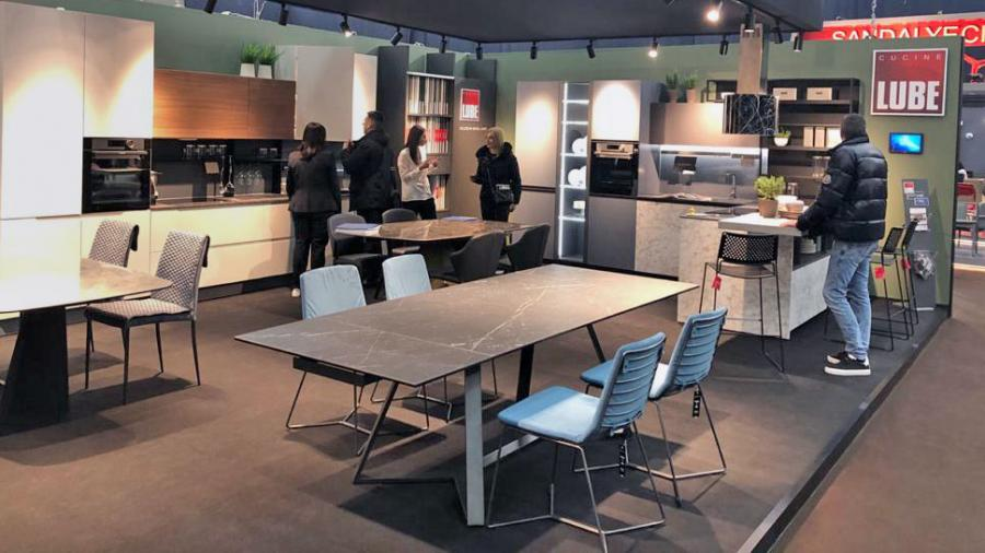 Cucine LUBE protagonist at the Interior Mebel trade fair in Kiev