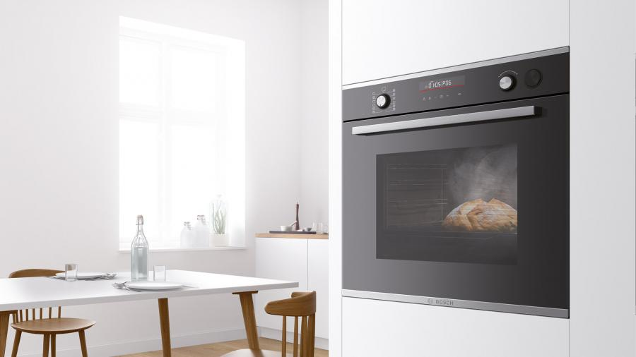 A secret ingredient for your recipes? The Bosch Series 6 ovens with steam impulses