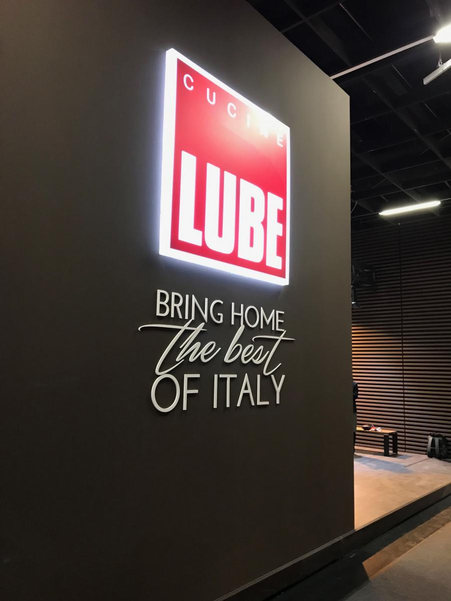 The quality and innovation of the Cucine LUBE brand on stage at Living Kitchen 2019 in Cologne