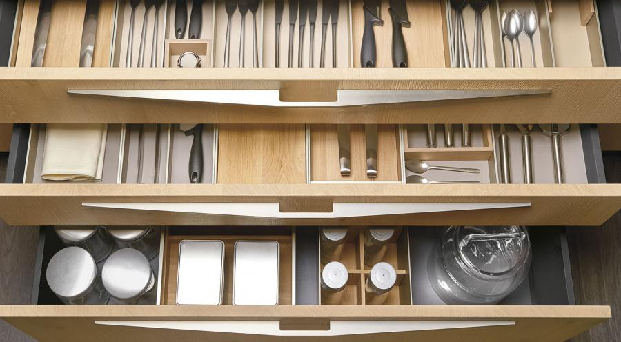 Drawers accessories - Cucine LUBE
