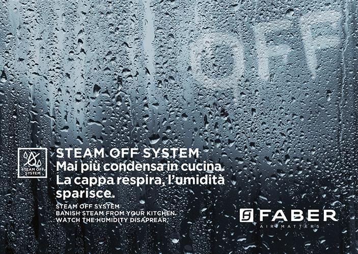 Faber Mai Più Condensa In Cucina Con Steam Off System Cucine Lube