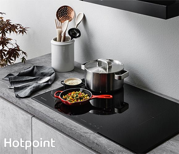 Mai più problemi di spazio con i piani a induzione Hotpoint - Cucine ...