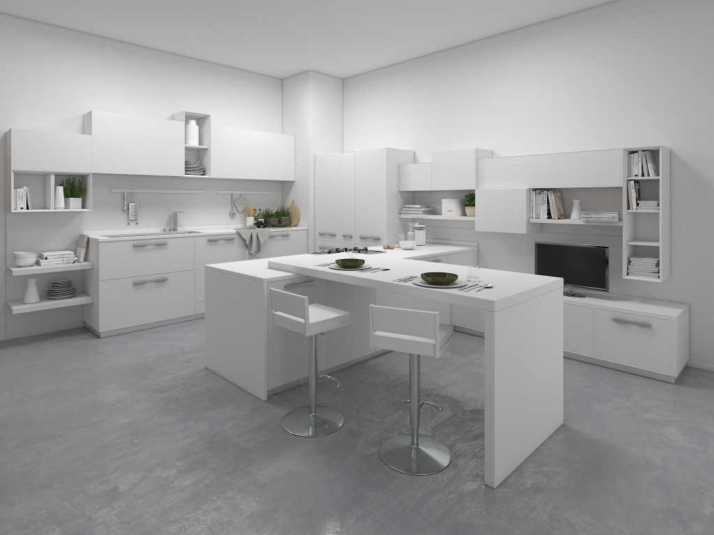 Adele project - Modern Kitchens - Lube Official Website