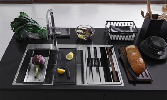 Accessori Lavelli Inox Franke.Box Center Franke Per Un Area Lavello Configurabile E