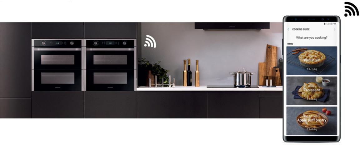 Quattro forni nello spazio di uno con il forno Dual Cook FlexTM ...