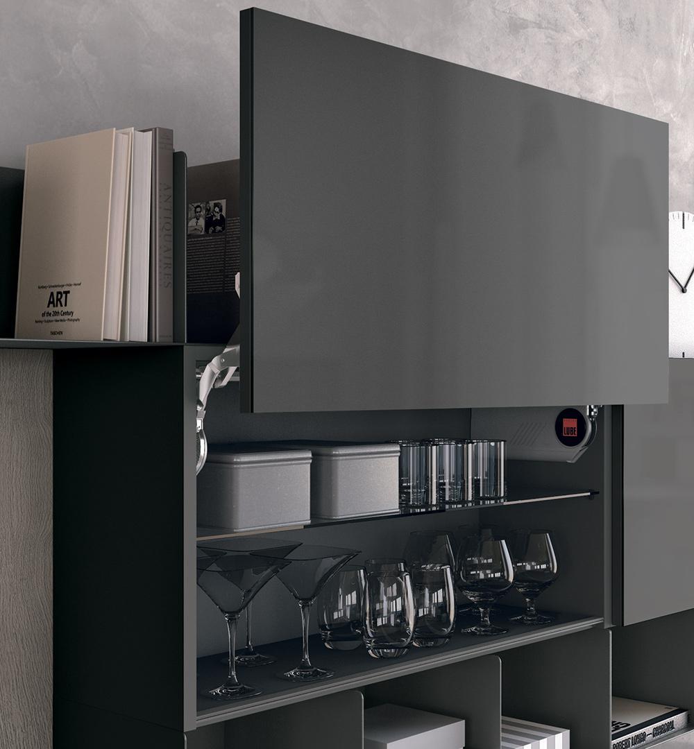 Come organizzare lo spazio nei cassetti in cucina. - Cucine Lube
