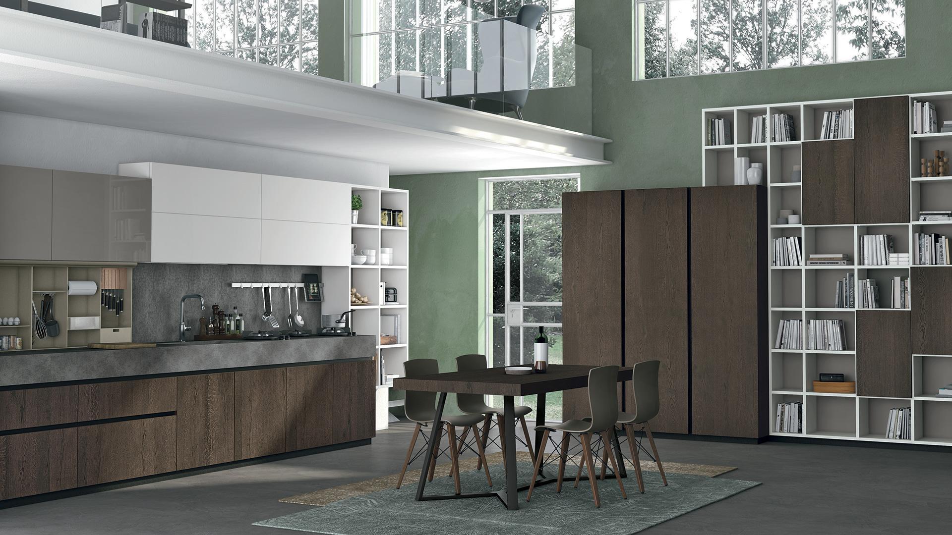 Cucina Completa Di Tavolo E Sedie.Tavoli Sedie E Design Cucine Lube