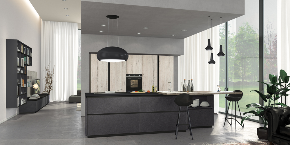 Cucina in stile RAW - Cucine Lube
