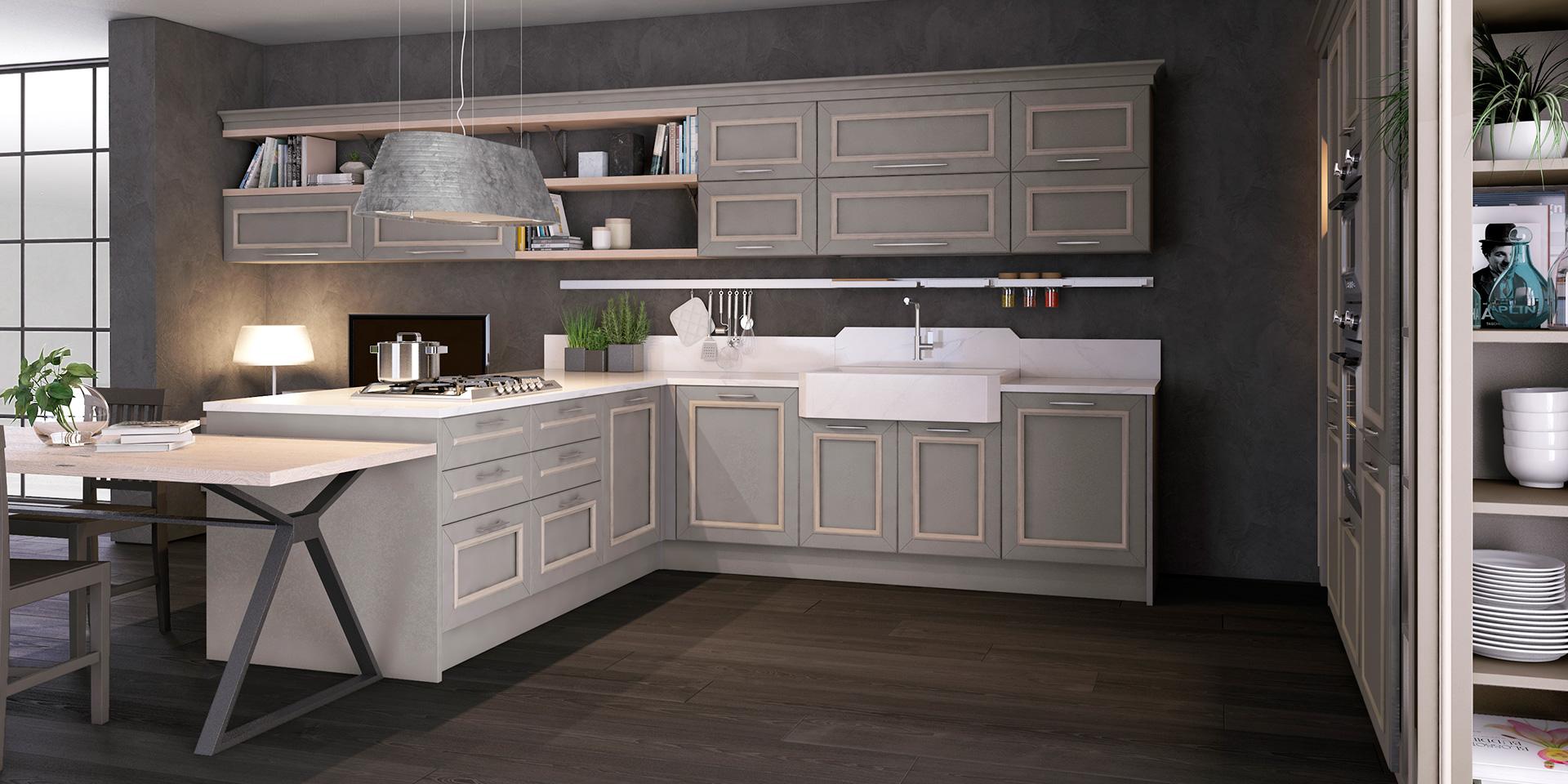 Gres Porcellanato Cucina Moderna.I Vantaggi Del Gres In Cucina Cucine Lube