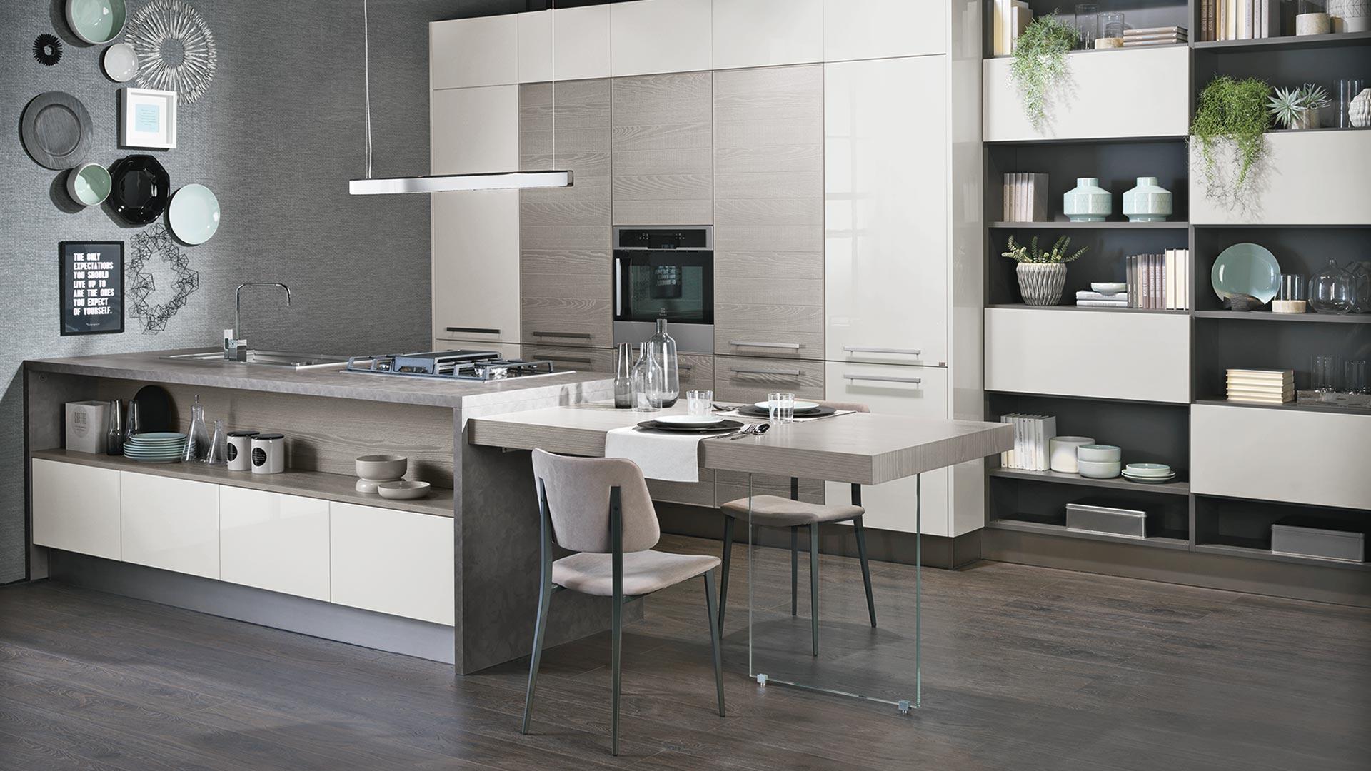 Adele project - Cucine Moderne - Scheda prodotto - Cucine Lube
