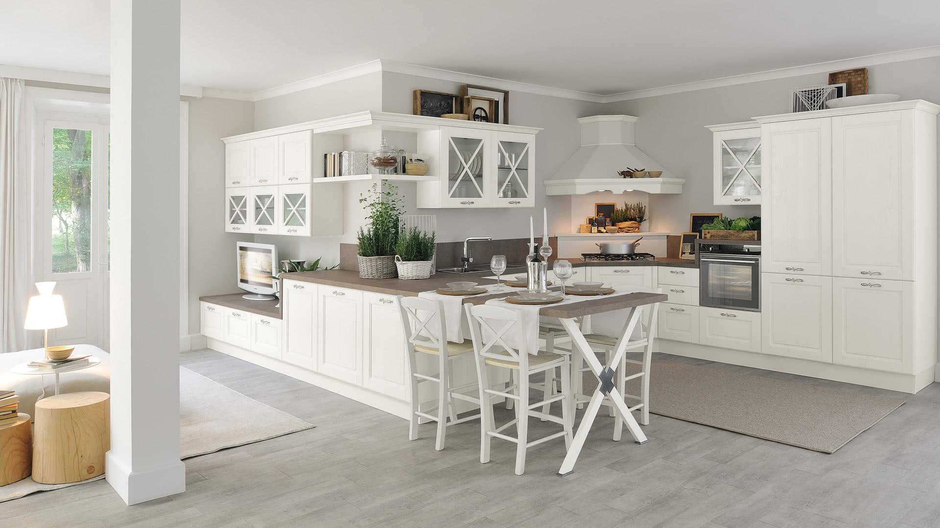 Agnese - Cucine Classiche - Scheda prodotto - Cucine Lube