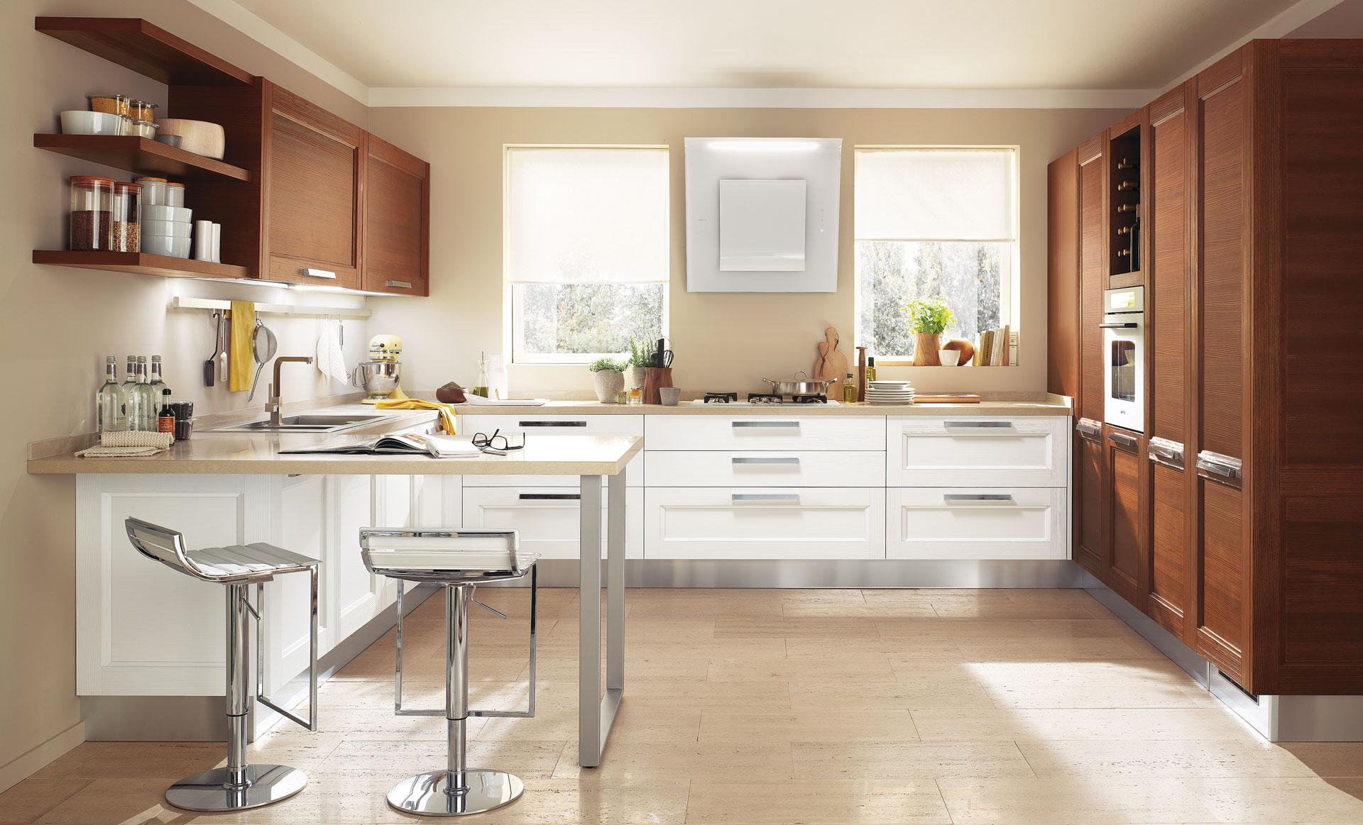 Georgia - Cucine Moderne - Scheda prodotto - Cucine Lube