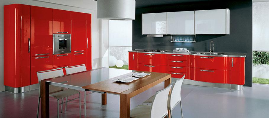 Katia - Cucine Moderne - Scheda prodotto - Cucine Lube