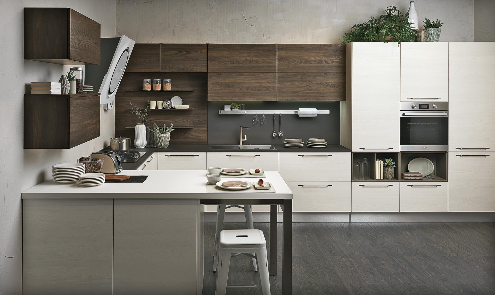 Noemi - Cucine Moderne - Scheda prodotto - Cucine Lube