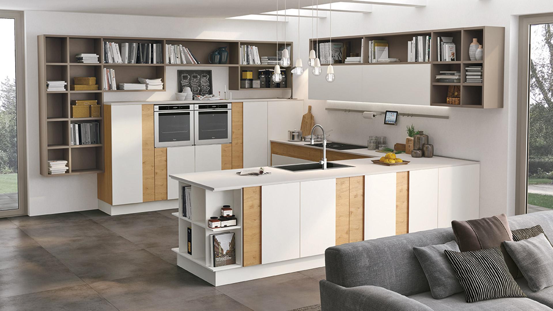Creativa - Cucine Moderne - Scheda prodotto - Cucine Lube